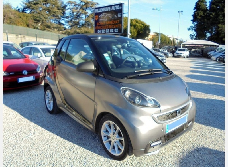 Smart FORTWO CABRIOLET 84CH TURBO ZADIG VOLTAIRE SOFTOUCH Essence GRIS F Occasion à vendre