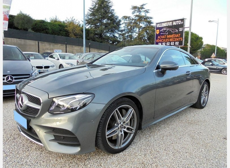 Mercedes-Benz CLASSE E COUPE (C238) 300 245CH FASCINATION 9G-TRONIC Essence GRIS  Occasion à vendre