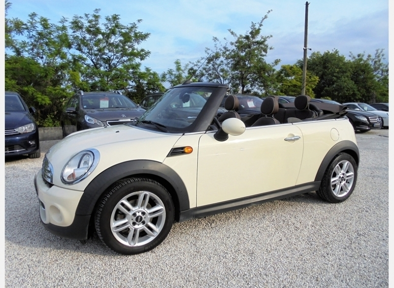 Mini CABRIO COOPER 122CH PACK CHILI Essence BLANC Occasion à vendre