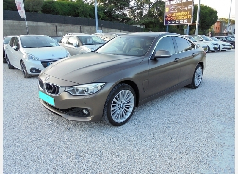 Bmw SERIE 4 GRAN COUPE (F36) 430IA XDRIVE 252CH LUXURY Essence MARRON Occasion à vendre