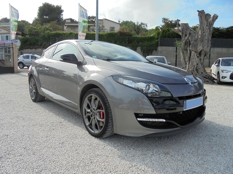 Renault MEGANE III COUPE 2.0T 265CH RS LUXE Essence GRIS FONCE Occasion à vendre