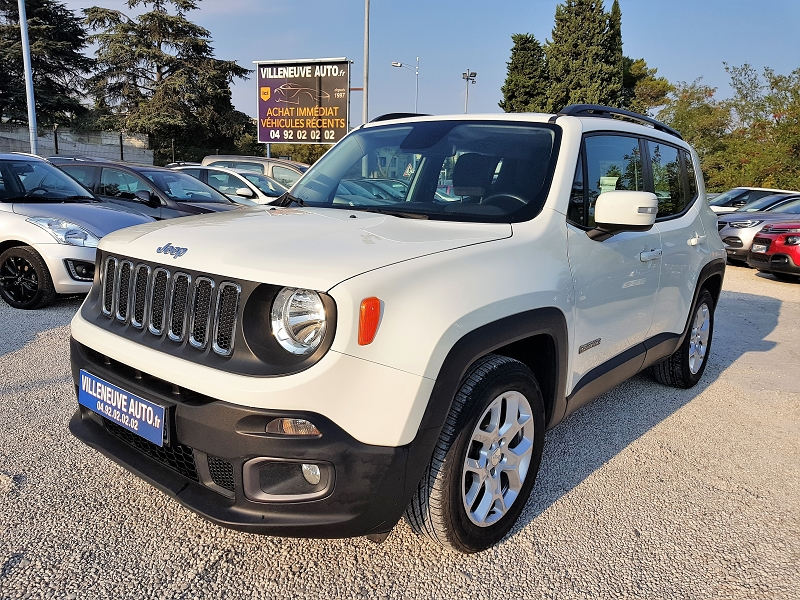 Jeep RENEGADE 1.4 MULTIAIR S&S 140CH LONGITUDE BUSINESS Essence BLANC Occasion à vendre